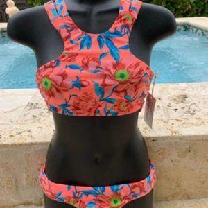 Tori Praver Bright Mango Bikini - S